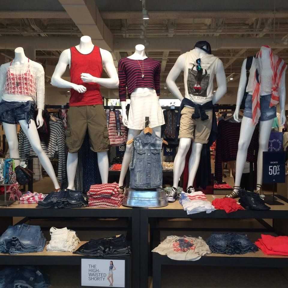 Patriotic fashion for everyone at @aeropostale at The Outlet Collection at Riverwalk in New Orleans.