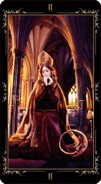 Tarot Trumps: The High Priestess