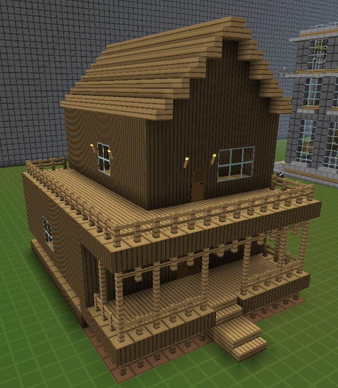 Small Log Cabin Minecraft House If Someone Want To Master Woodworking Techniques  Look At
