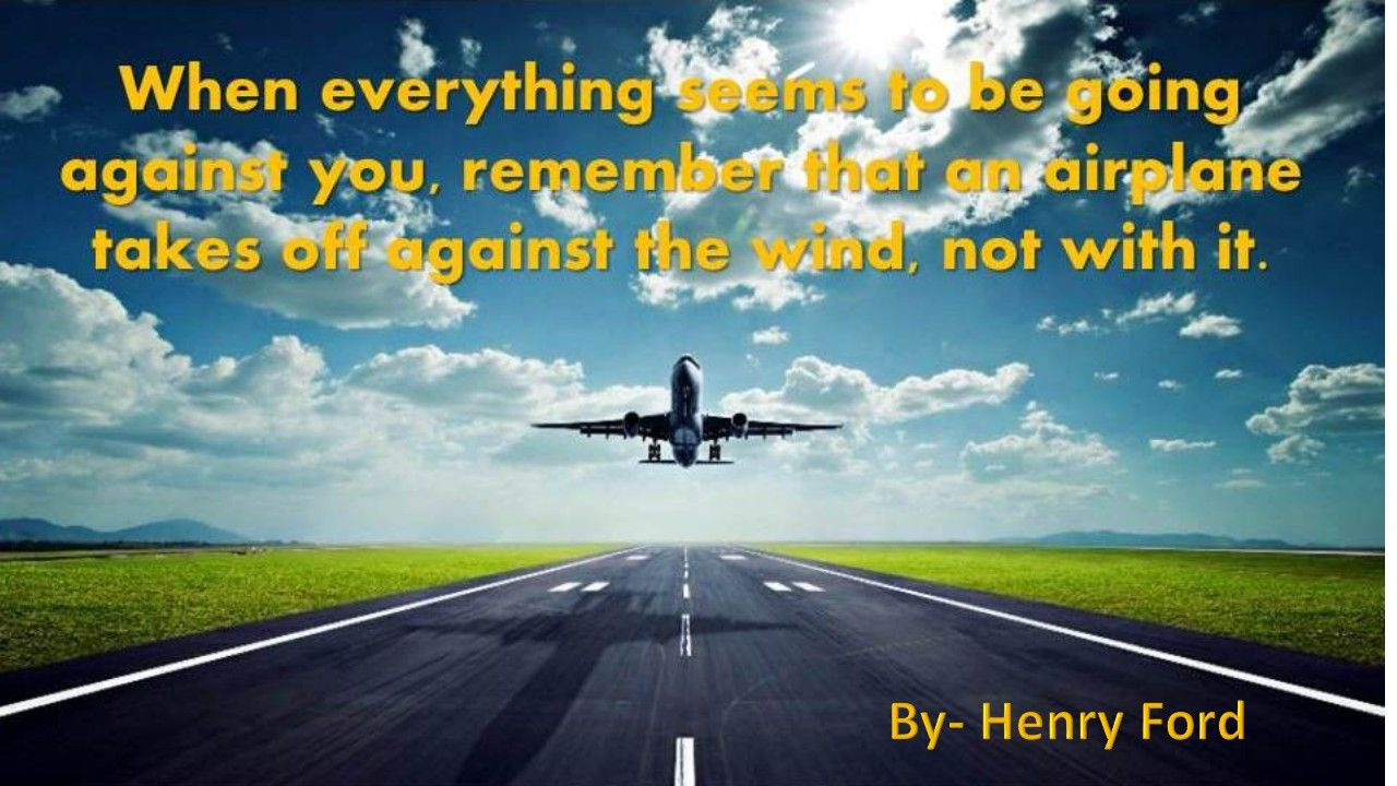 When #everything seems to be going against you, remember that ...