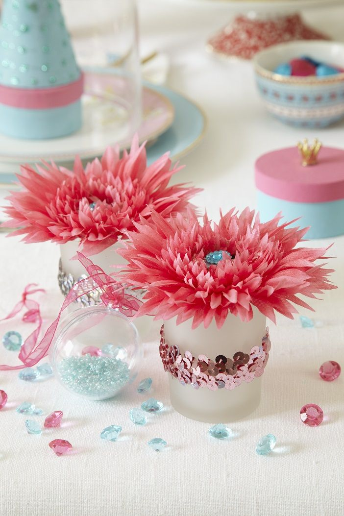 How to Make Sequinned Glass Votives Hobbies and crafts