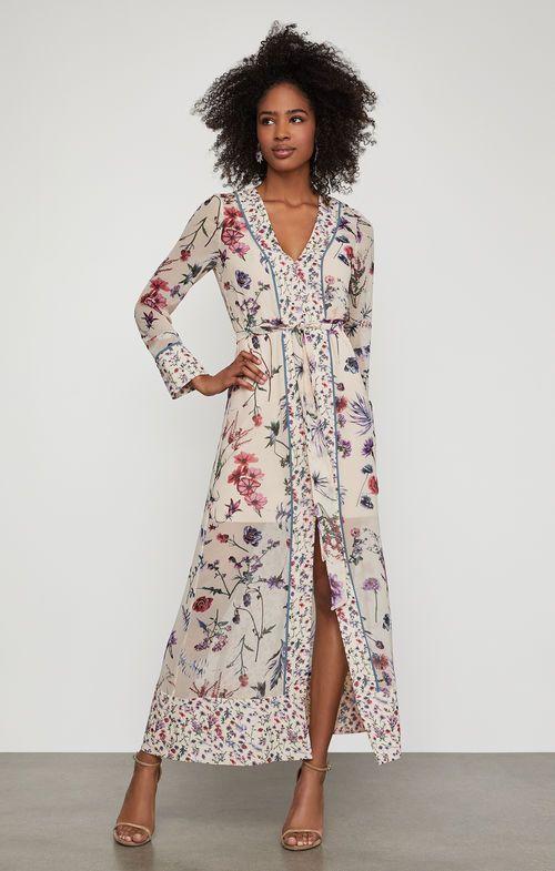 Wildflowers Maxi Dress Dresses Floral Maxi Dress Denim