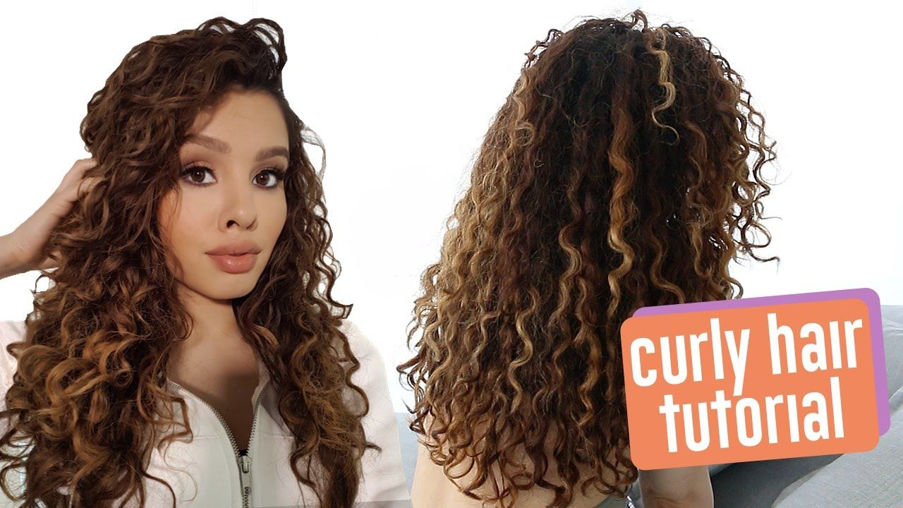 My Curly Hair Routine Get A Curly Mask Hair For Moisturizing From