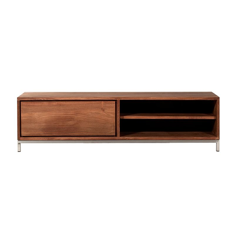 Meuble tv 1 tiroir en teck FSC L 142 P 47 HT 38 cm Existe en 2 ... b051710eb199