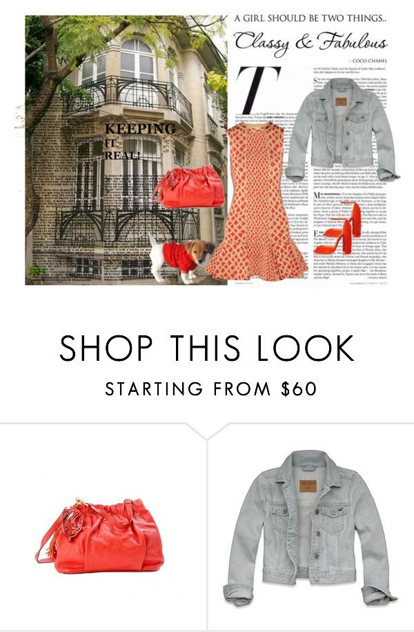 """""""Keeping it real"""" by lehman112 ❤ liked on Polyvore featuring Vanity Fair, Christian Louboutin, Hollister Co. and Issa"""