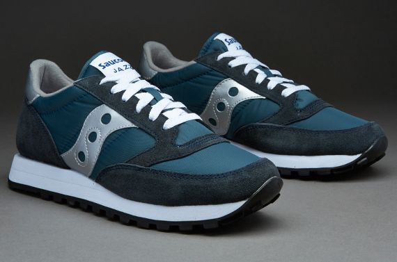 Saucony Originals Jazz Shoes - Navy/ Silver