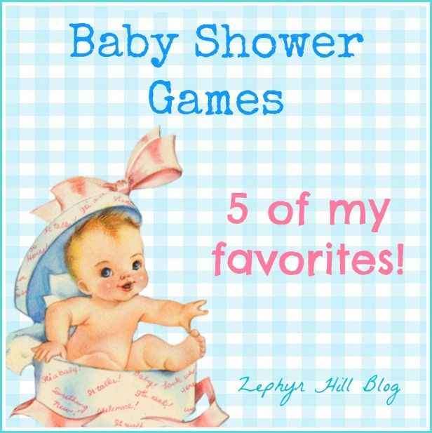 My Top 5 Favorite Baby Shower Games Easy And Cheap
