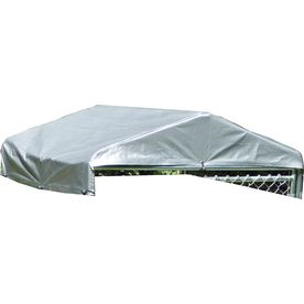 Lucky Dog 60 in L x 60 in W Plastic Roof Kit Kennel Cover Lowes