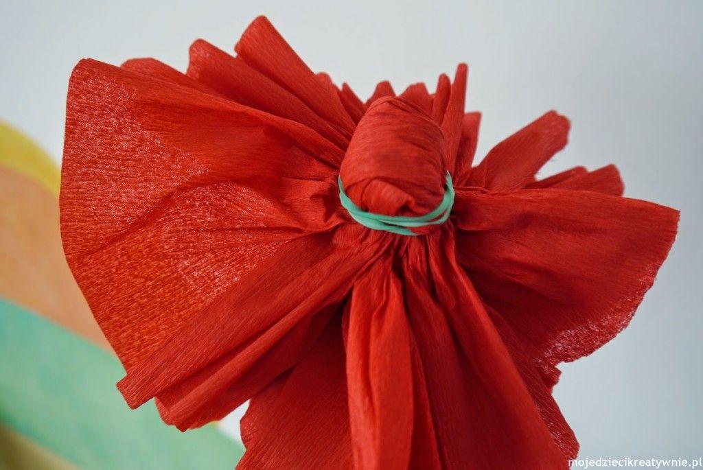 Kwiaty Z Bibuly Diy Moje Dzieci Kreatywnie Paper Flowers Diy Handmade Flowers Paper Flowers