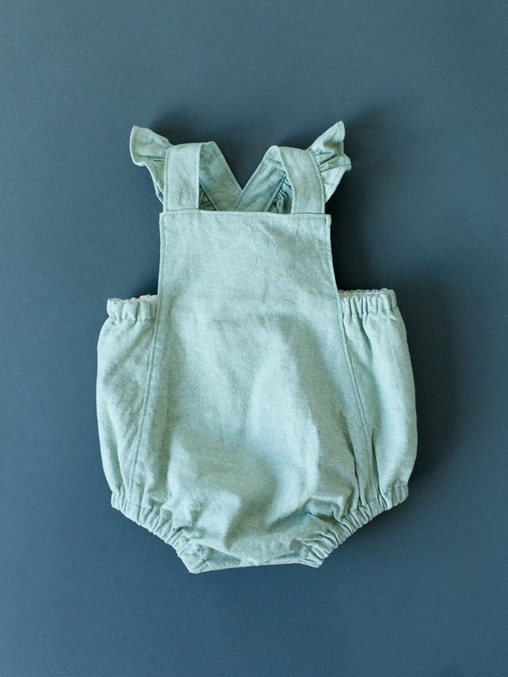 ef3f8087a56 Baby Romper - Baby Playsuit - Girl Romper - Girl Playsuit - 0-3m