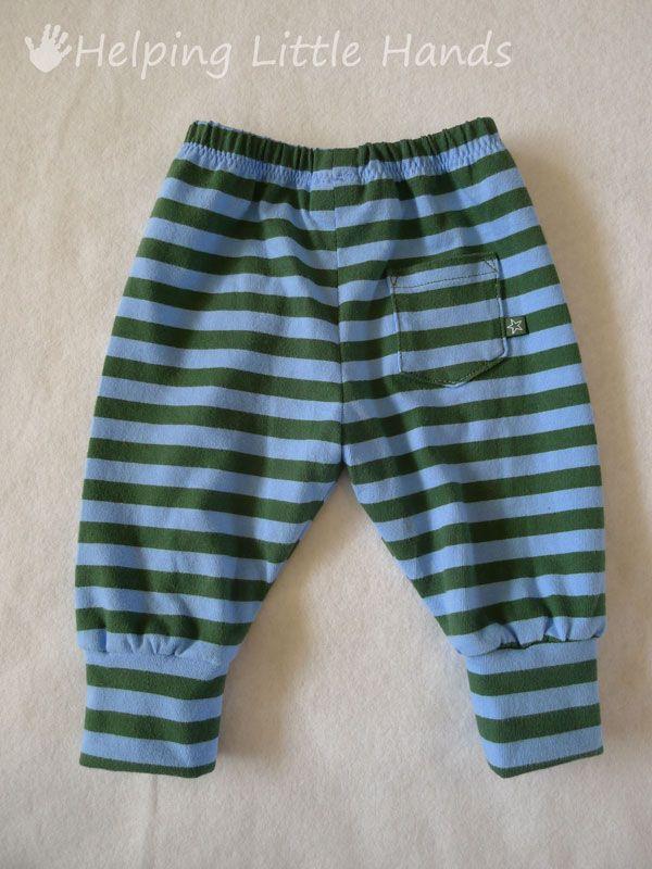 0ccfcf8deae0c Costura Niños  Patrón Pantalones para recien nacidos Gratis