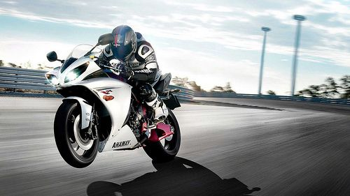 Yamaha Sports Bike Hd Wallpapers Fondo De Pantalla Lobo Motos