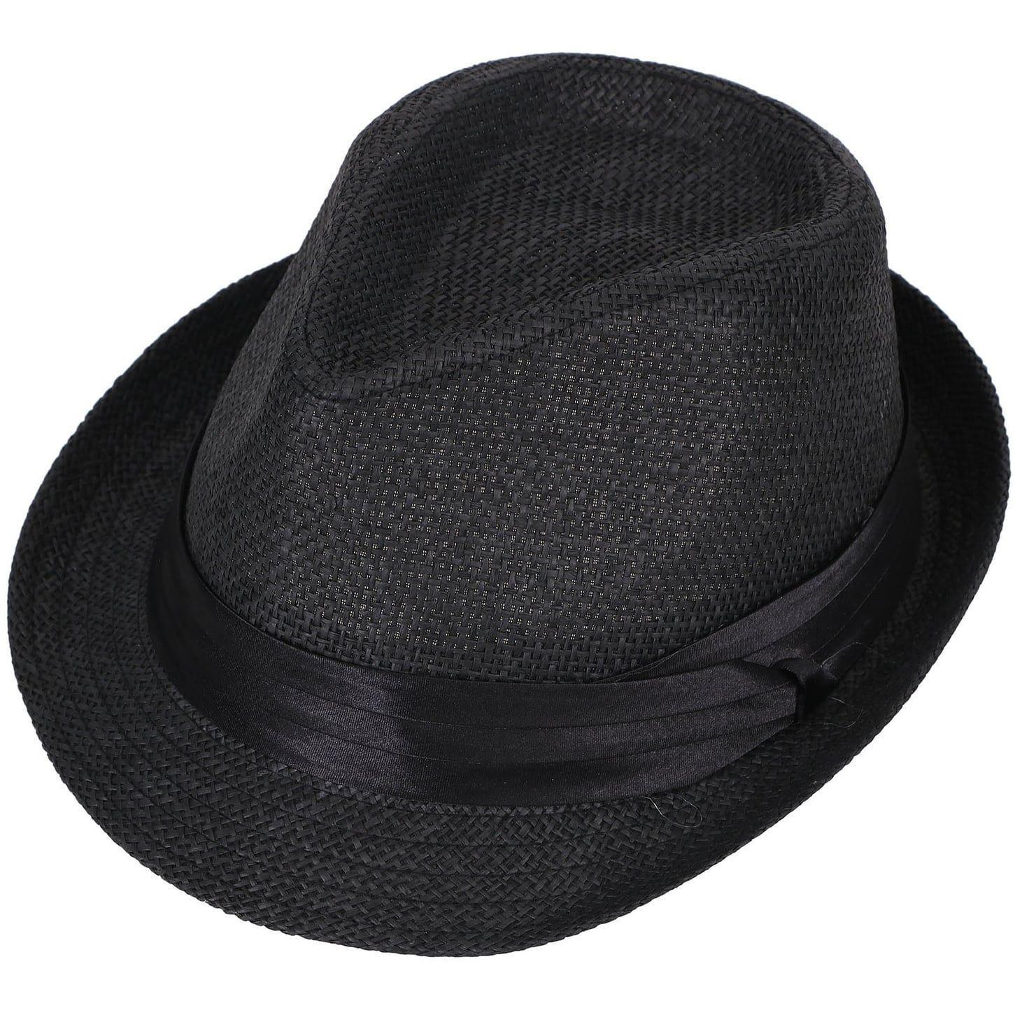 bcc258f60497f Simplicity Women Men Summer Double Colors Fedora Hat w  Rasta Band ...