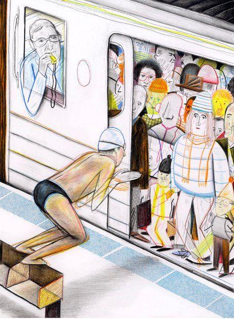 France Illustrator Yan Kebbi