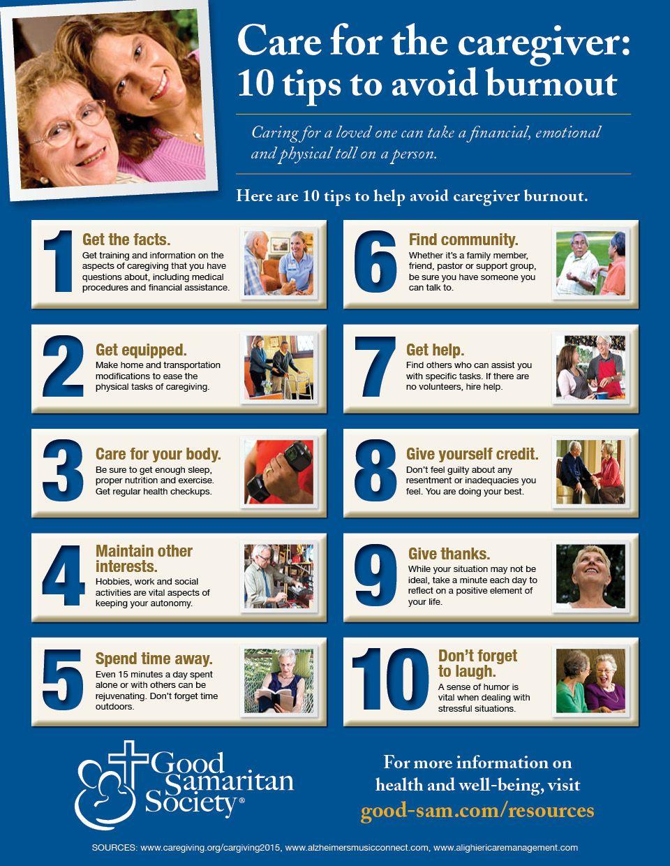 10 Tips To Avoid Caregiver Burnout Caregiver Burnout Caregiver