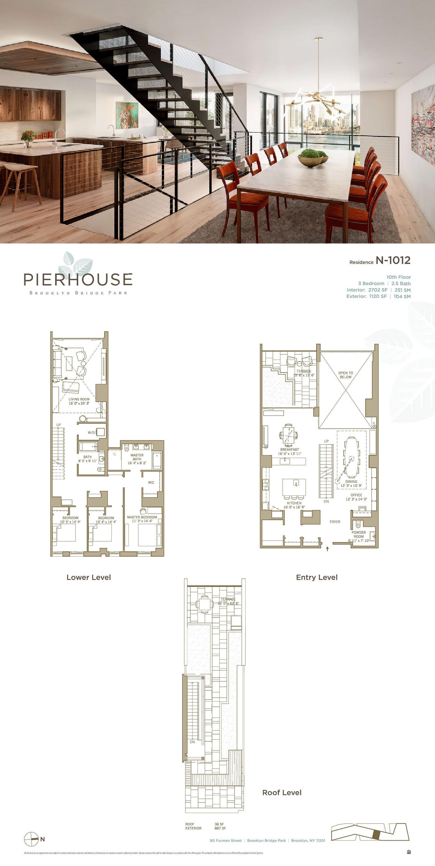 Pierhouse Brooklyn Luxury Condos For Sale At Brooklyn Bridge Park Penthouse Apartment Floor Plan Pier House City Living Apartment
