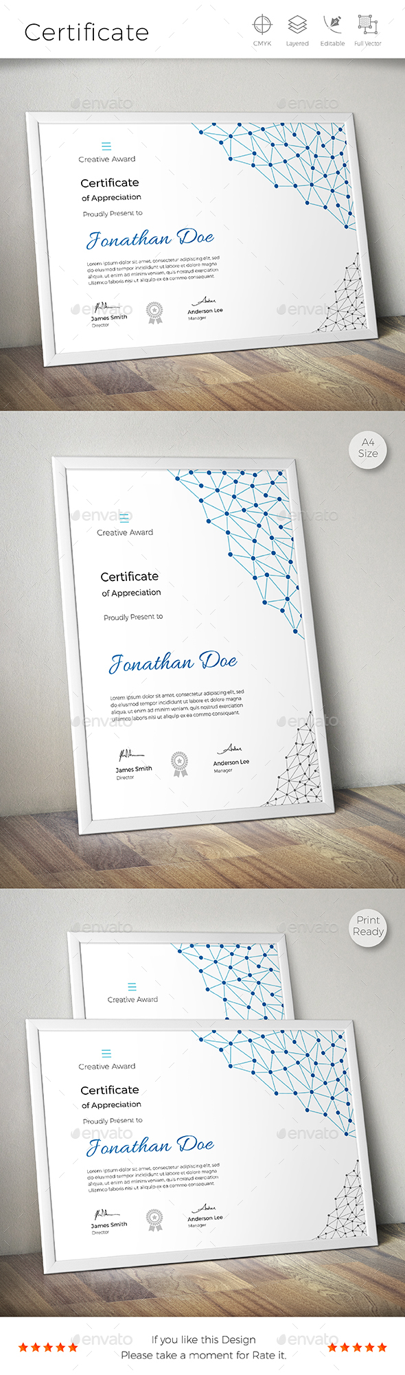 Certificate certificate template and certificate design buy certificate by creativeracer on graphicriver a great creative multipurpose certificate template for creative person features easy to edit cmyk color 1betcityfo Gallery
