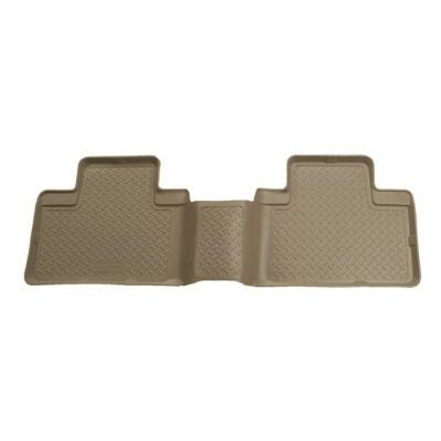 Husky Liners Custom Fit Second Seat Floor Liner For Ford Excursion For Select Ford Excursion Models Tan Husky Liners Floor Liners Husky