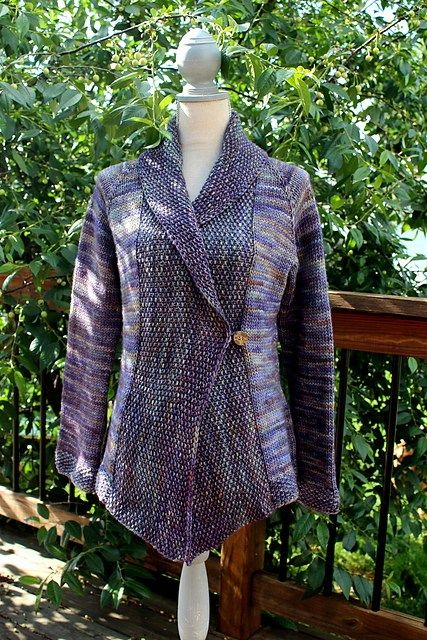 Jacket and Coat Knitting Patterns   In the Loop Knitting ...