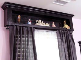 Clever Storage Valance Kids Window Treatments Wooden Window