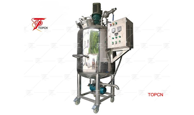 Shear Mixing Tank Is Available For Manufacturing Liquid Products