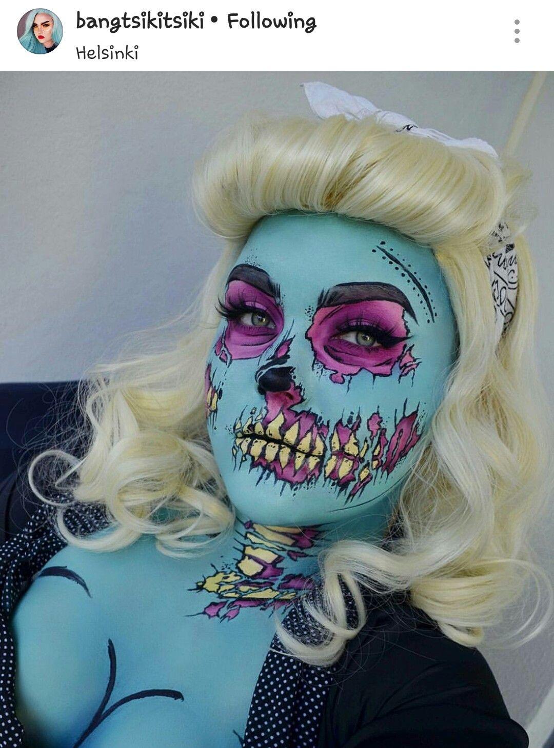 Pin by jessi martínez on maquillajes pinterest halloween makeup