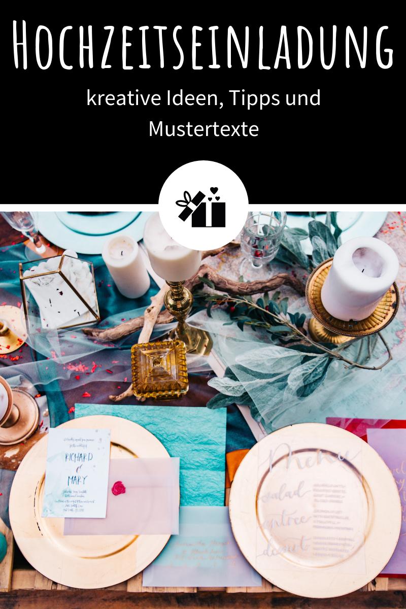 Hochzeitseinladung Kreative Ideen Tipps Und Mustertexte Hochzeit