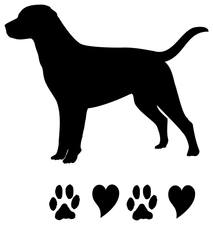 Images For > Lab Dog Outline | Doggie stuff | Pinterest ...