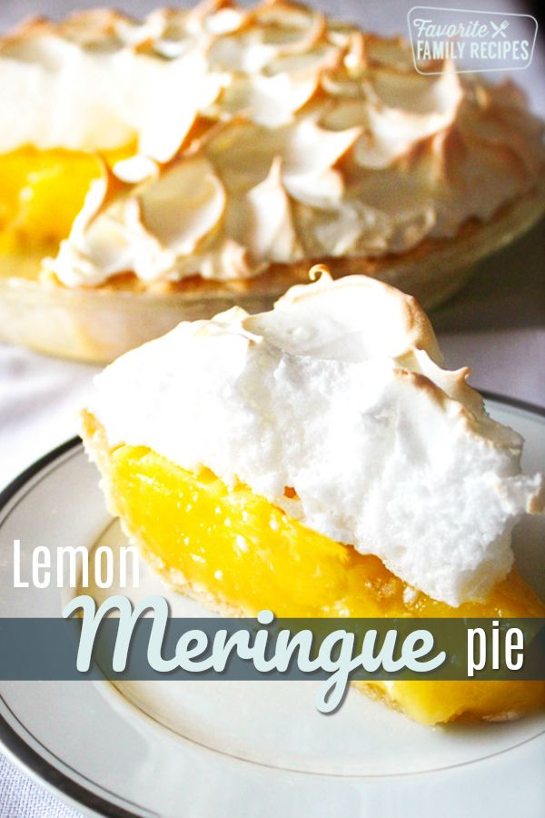 Lemon Meringue Pie is one of my alltime favorites Smooth tart lemon filling with light and fluffy meringue that melts in your mouth The best lemon pie you will ever taste