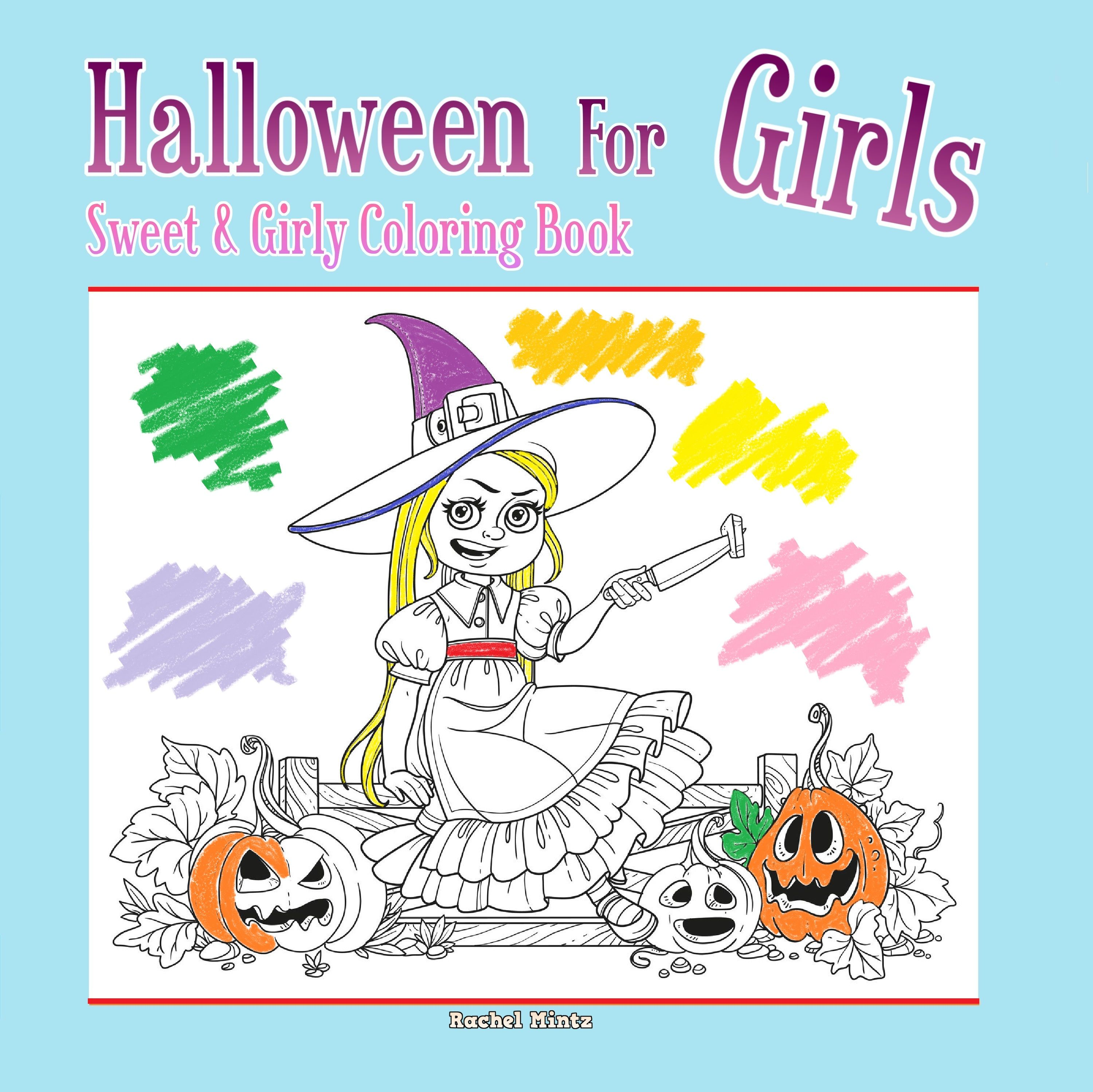 30 NonScary Halloween Coloring Pages For Toddlers