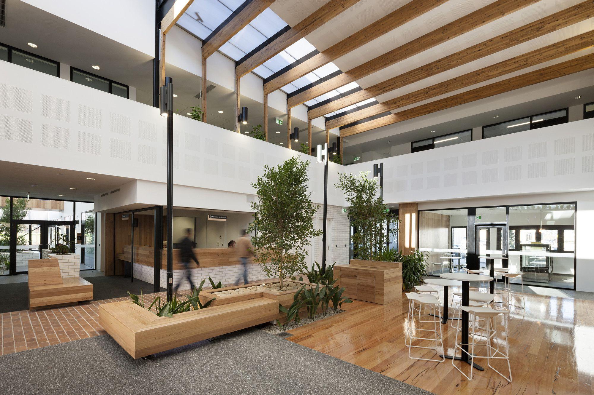 Health care center design concept