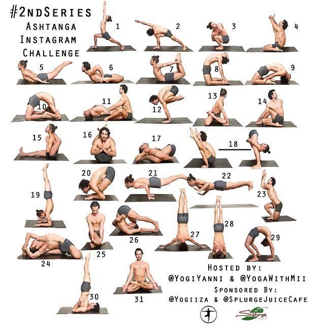 Ashtanga Yoga Second Series Yogiiza