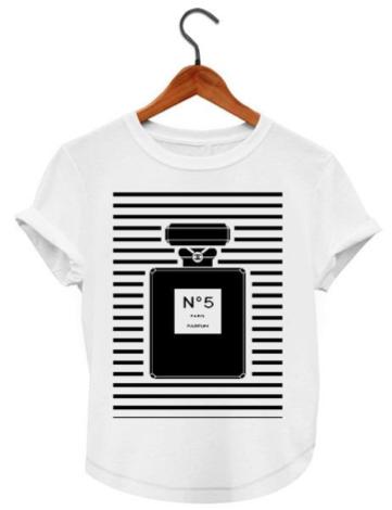 e932a039 CHANEL PERFUME 5 FASHION TSHIRT FOR KIDS AND ADULTS | T-shirt que ...