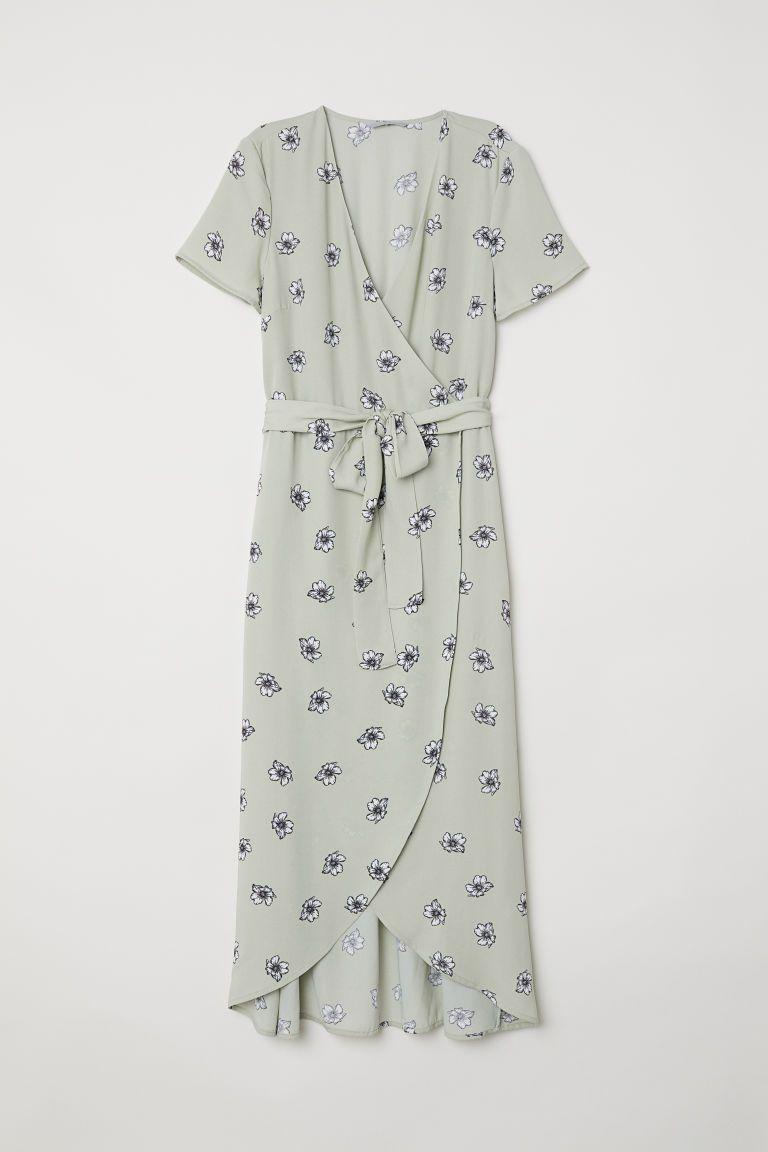 91505721a33 Long wrap dress | CURRENTLY COVETING - Jurken, De jurk en Mouwen