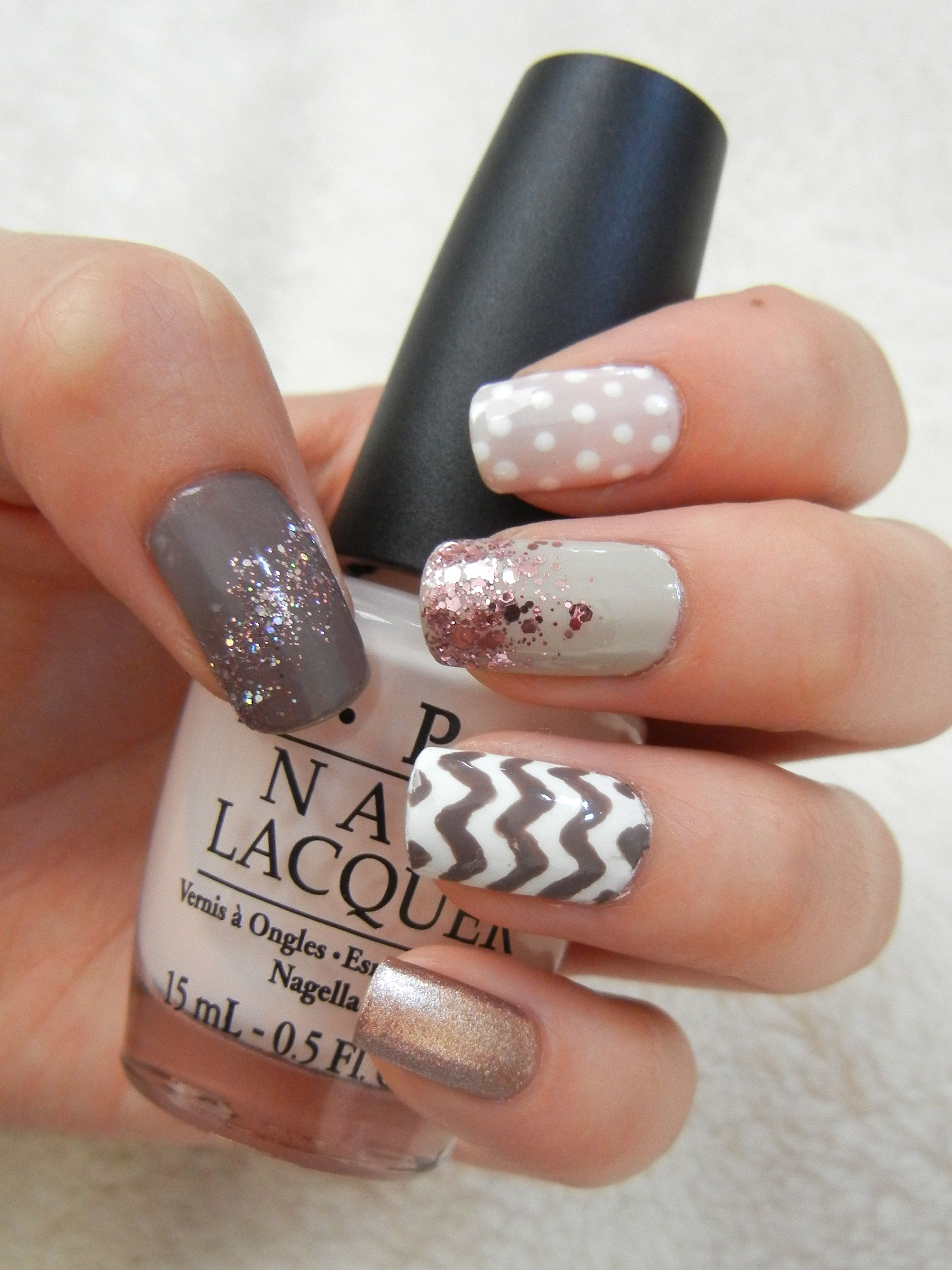 Girly Nail Art One Of My Faves Ive Done My Nail Artnotds