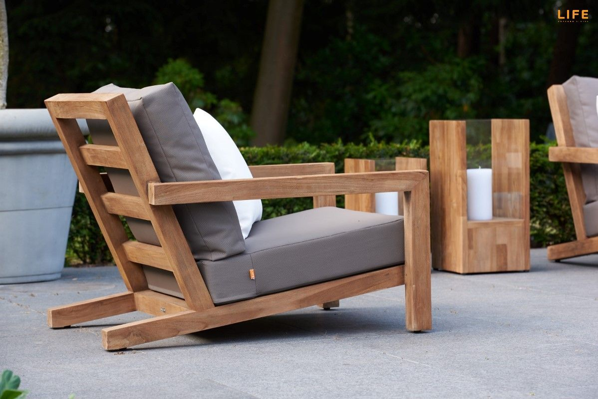 Block Lounge Teak Life Outdoor Living Lounge Sessel Garten Teak Gartenmobel Garten Couch
