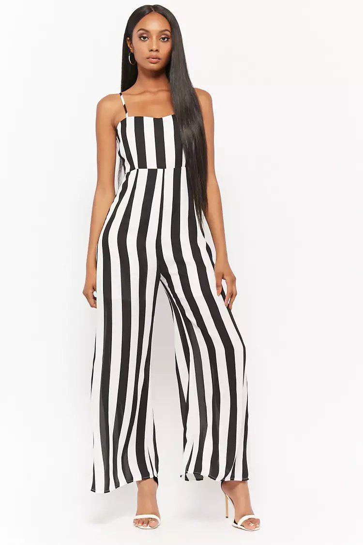 25f0ec5384c Product Name Striped Chiffon Jumpsuit