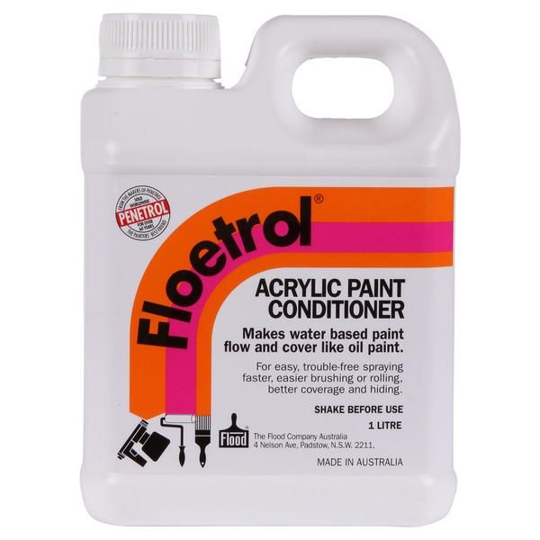 Flood Floetrol Acrylic Paint Conditioner Paint Additive Painting