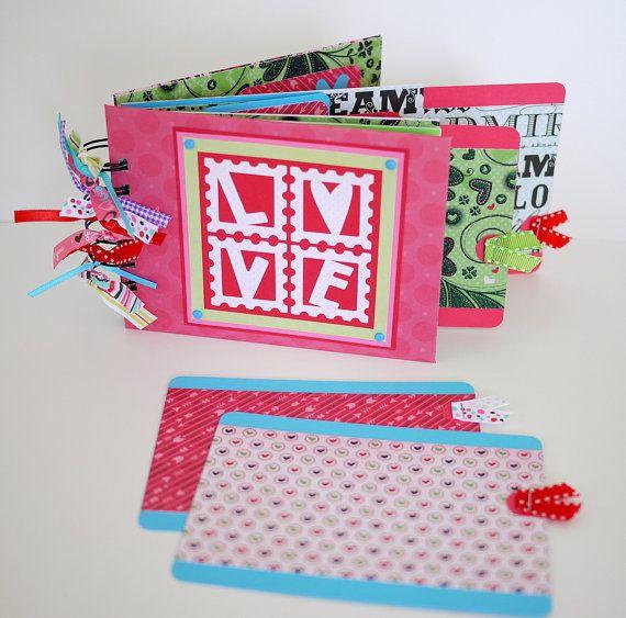 Love Scrapbook Mini Album