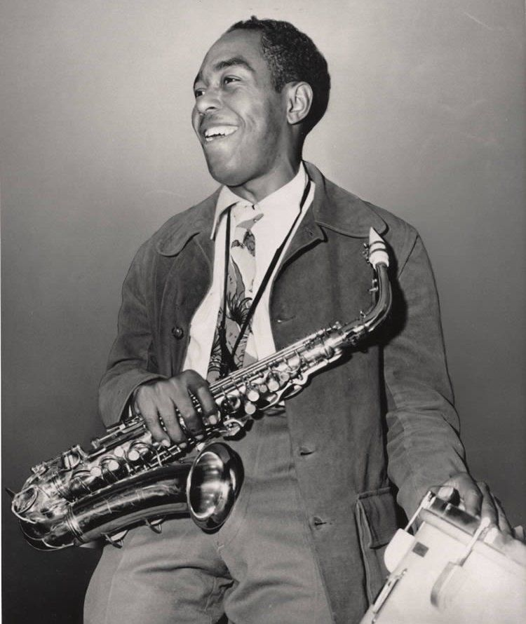 """Charlie Parker """"And I sat there listening to that sound of the night which bop has come to represent for all of us."""""""