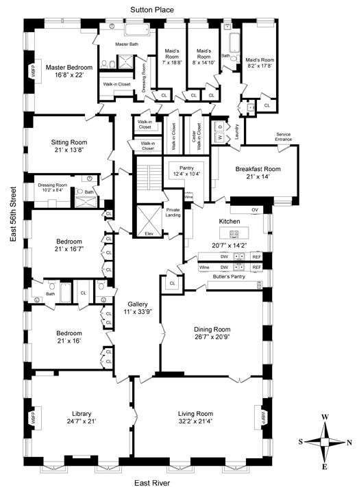 greys anatomy house plan poster Monday November 19 2012 40