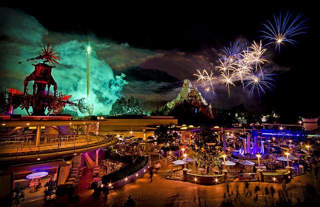 Tomorrowland Fireworks  http://wefirstmet.com