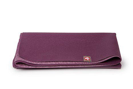 Manduka eKO SuperLite Yoga Mat, Acai,1.5mm Travel yoga