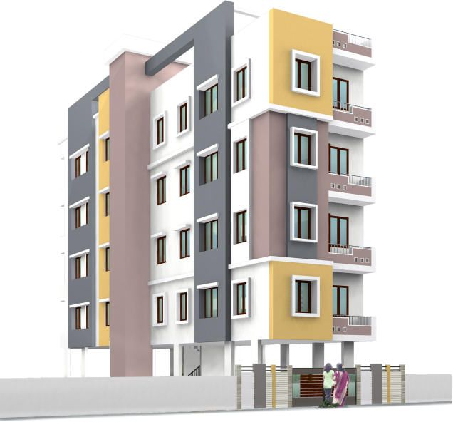 Ishwerya Coral 2BHK Apartments For Sale On Osborne Road