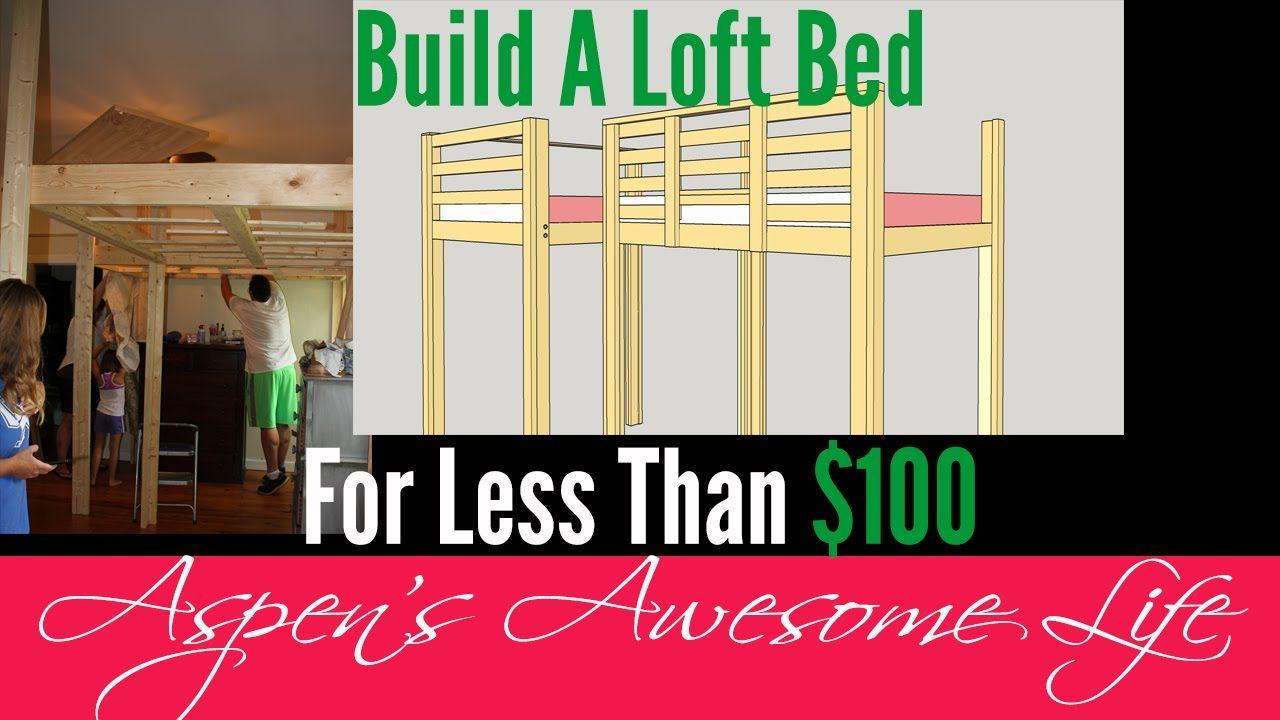 Loft beds for kids diy  DIY  Loft Platform Bed Build it Yourself Do It  Kids Domain