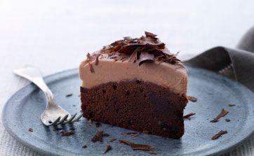 chokoladekage med mascarponecreme