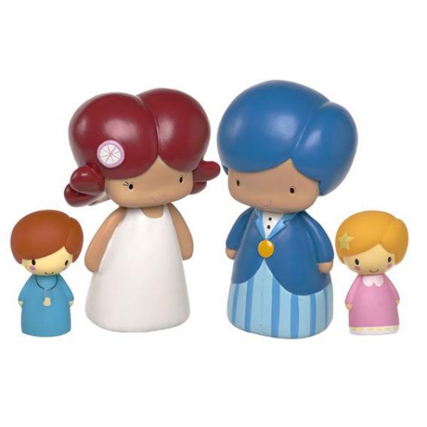 Muñecos de novios para el pastel de boda | HISPABODAS