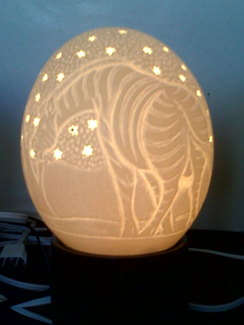 Ostrich Egg Carving | Ostrich Feathers Ostrich Leather Carved ...