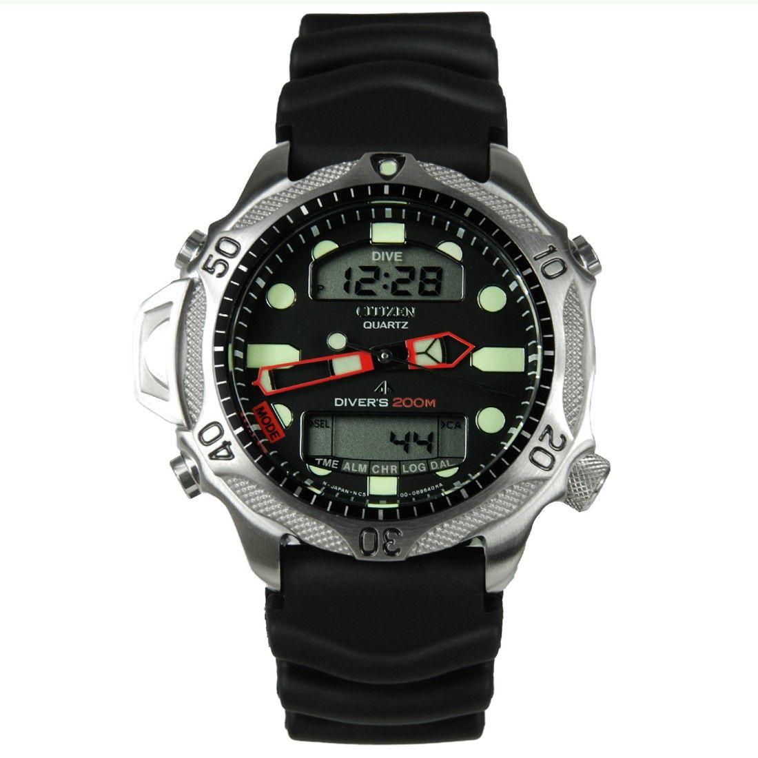 Citizen Promaster Dive Computer Watch Jp1010 00e Jp1010 01e Jp1011 07e Pre Owned Watches Dive Computers Casio Watch