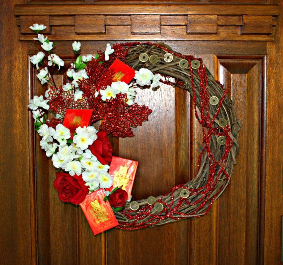 Chinese New Year Wreath Celebrate China Lunar by ...